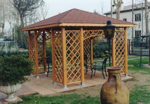 gazebo 360 x 360 - Gazebi - Holz Team